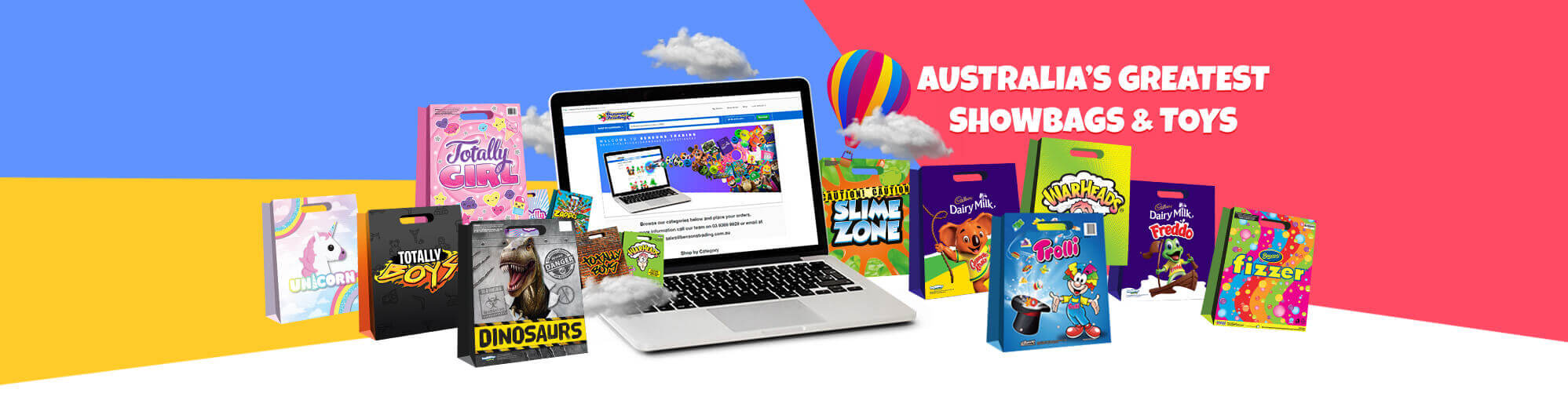 Bensons Showbags Wholesale Toys